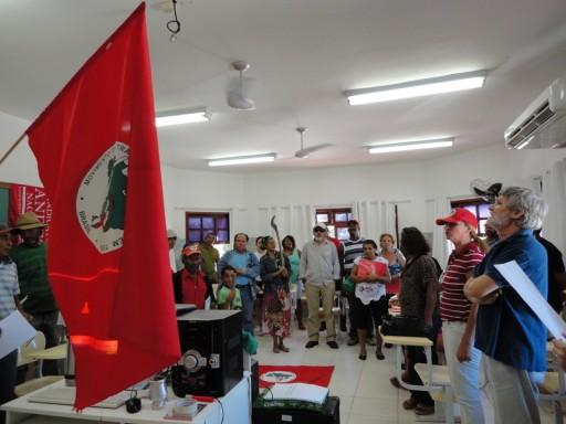 Formação no Acampamento Osvaldo de Oliveira - MST