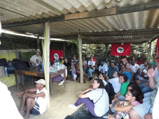 Formação no Acampamento Osvaldo de Oliveira