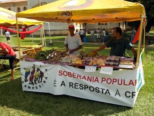 Feira da Reforma Agrária da UFRRJ