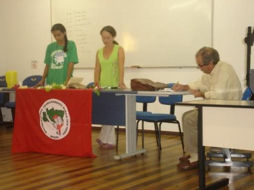 Aula do professor Pinheiro Machado
