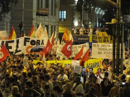 Manifestação - 27 de Julho - Foto: Alan Tygel