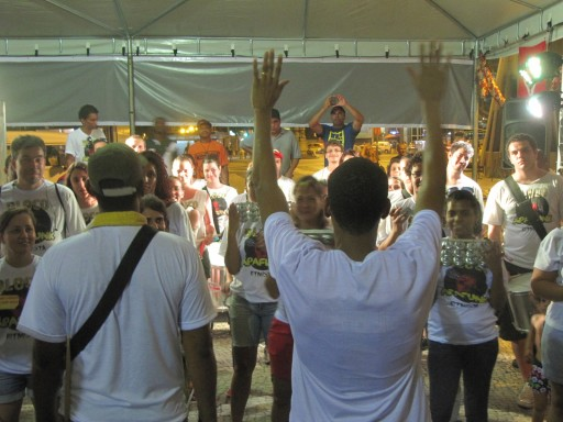 Bloco da Apafunk, na Feira do MST. Foto: Alan Tygel