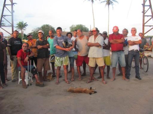 Assembleia no acampamento Luis Maranhão