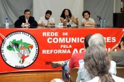 Lançada Rede de Comunicadores pela Reforma Agrária no Rio. Foto: Samuel Tosta.