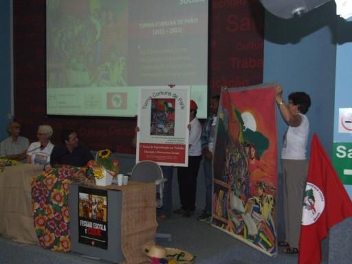 Entrega da Arte da Turma para a ENFF e a EPSJV/Fiocruz – 15.05.2013