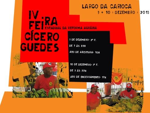 IV Feira Estadual da Reforma Agrária - Cícero Guedes