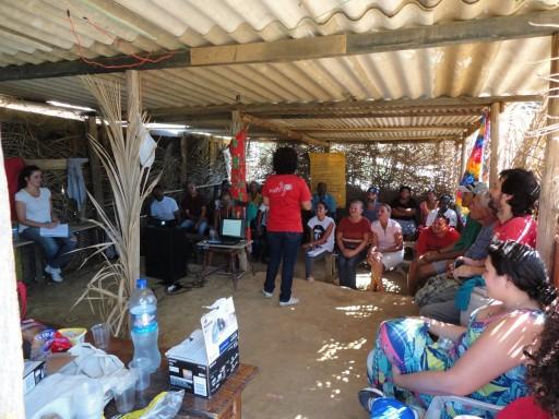 Formação Política no acampamento Osvaldo de Oliveira