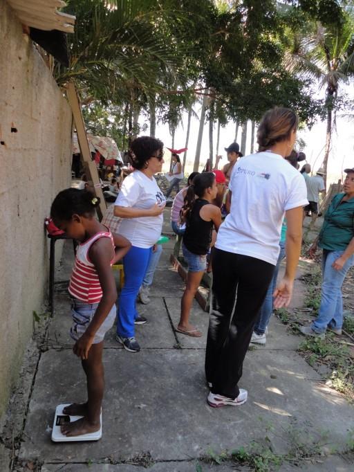 Oficina de Saúde no acampamento Luiz Maranhão