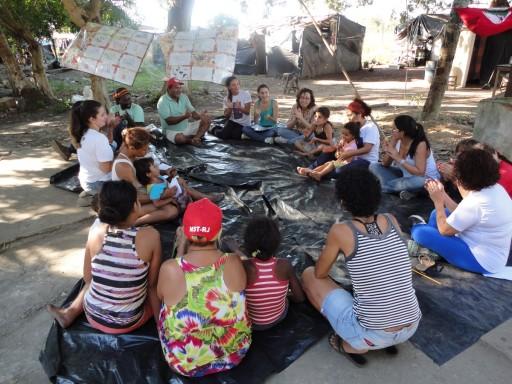 Sem Terrinhas no acampamento Luiz Maranhão