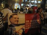 Marcha Contra as Transnacionais - Eike Batista