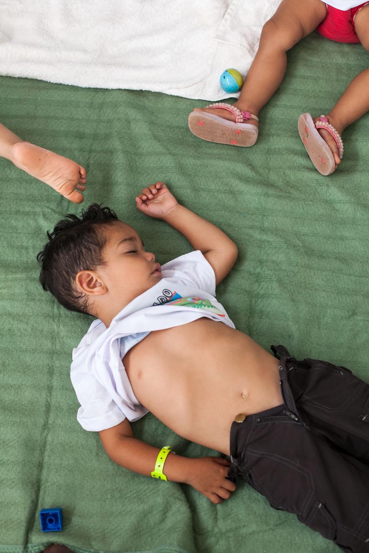 VI Congresso Nacional do MST, Brasilia. Dia 2. Ciranda Infantil Paulo Freire